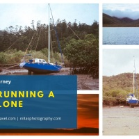 Sailing Journey: Outrunning a Cyclone