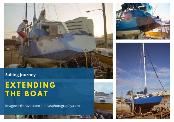 extending the boat, Townsville, Queensland, Australia, Oceania