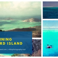 Sailing to Stunning Lizard Island, Australia