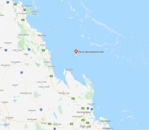 cyclone, Middle Percy Island, Queensland, Australia, Oceania