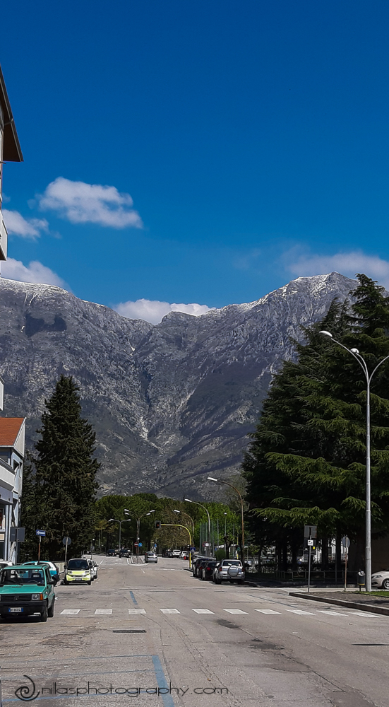 Apennine Mountains, Sulmona, Abruzzo, Italy, Europe