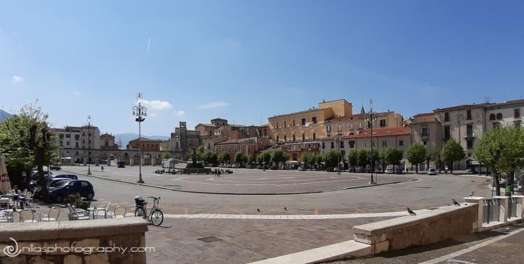 Piazza Giuseppe Garibaldi, Sulmona, Abruzzo, Italy, Europe