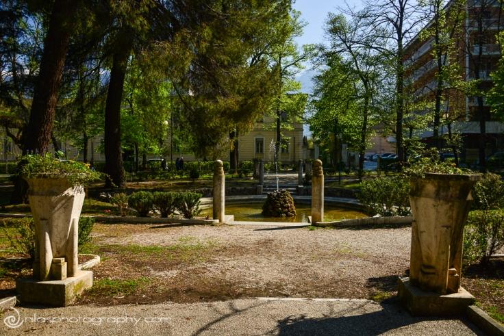 Villa Comunale, Sulmona, Abruzzo, Italy, Europe