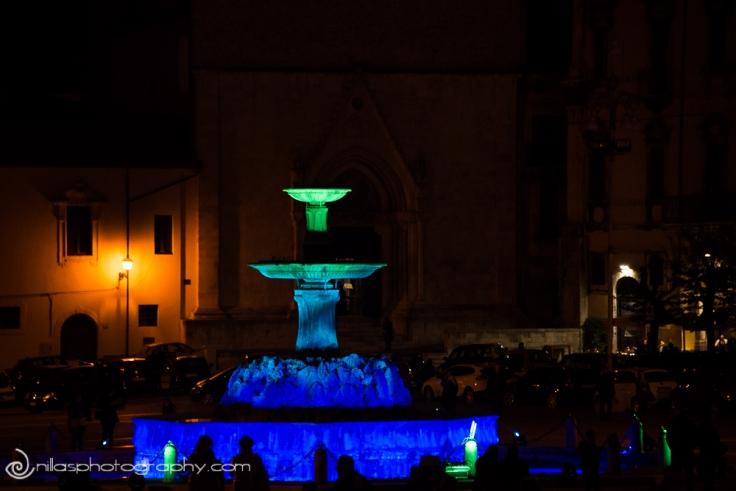 Fontanone, Lamp On, Sulmona, Abruzzo, Italy, Europe