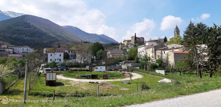 Another vista, Gagliano, Abruzzo, Italy, Europe