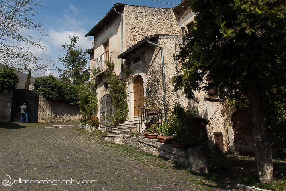 Grandfather's house, Centro Storico, Gagliano Aterno, Abruzzo, Italy, Europe