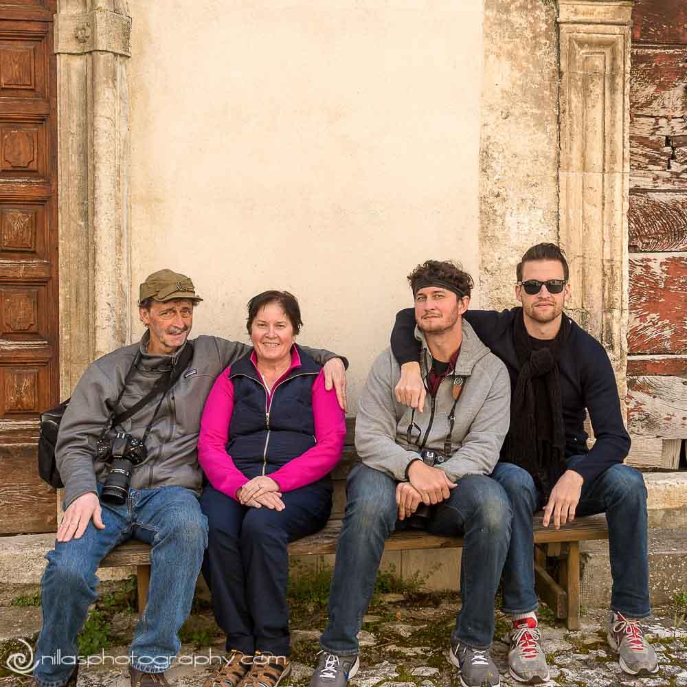 La Famiglia, Centro Storico, Gagliano Aterno, Abruzzo, Italy, Europe