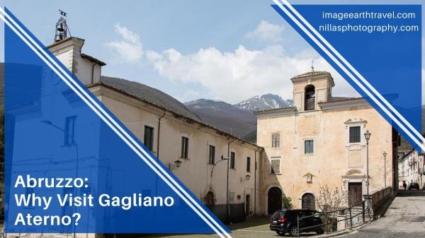 Gagliano Aterno, Abruzzo, Italy, Europe