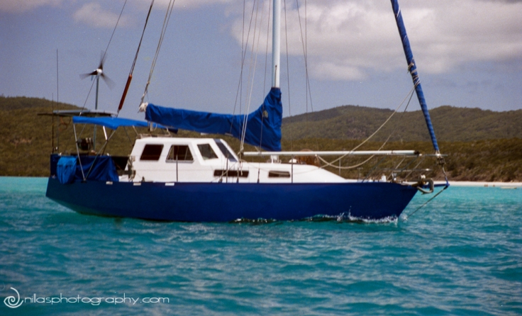 Sailing boat, Whitsunday's, Queensland, Australia, Oceania