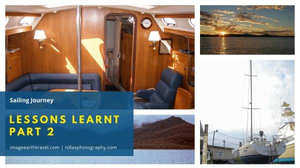 Sailing Journey: Lessons Learnt Part 2, Australia Oceania