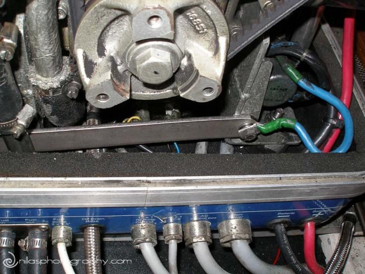 Motor in Catalina 470