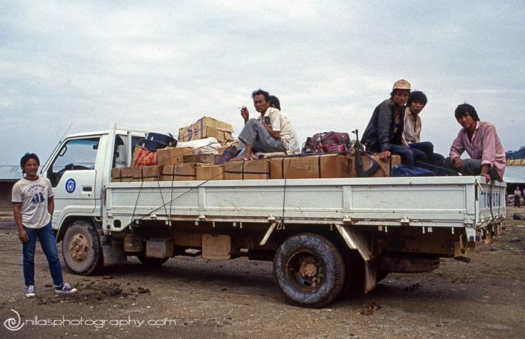 UNICEF truck, Laos, SE Asia