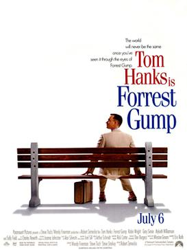 Forrest Gump Theatrical Release Poster (Wikipedia)