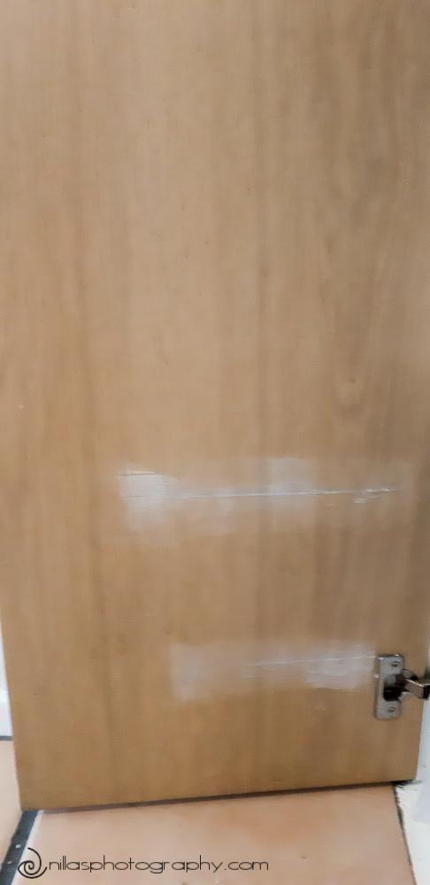 crack filling kitchen cupboards, Brisbane, Australia, Oceania