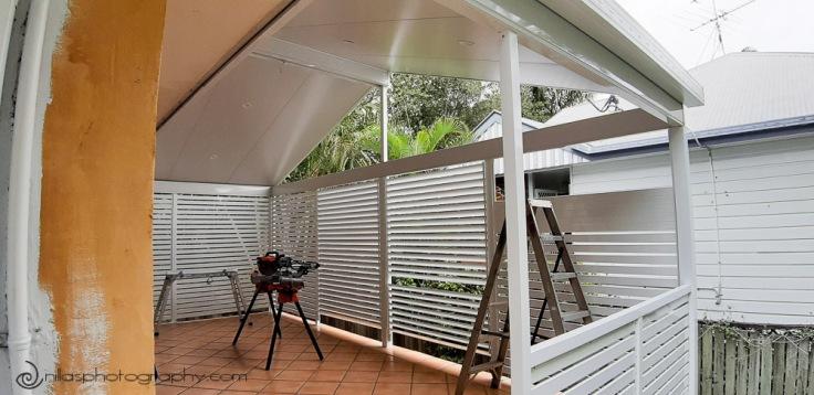enclosure install, renovating alfresco, house, Brisbane, Australia, Oceania