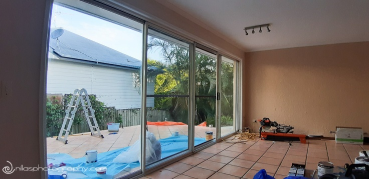renovating alfresco, house, Brisbane, Australia, Oceania