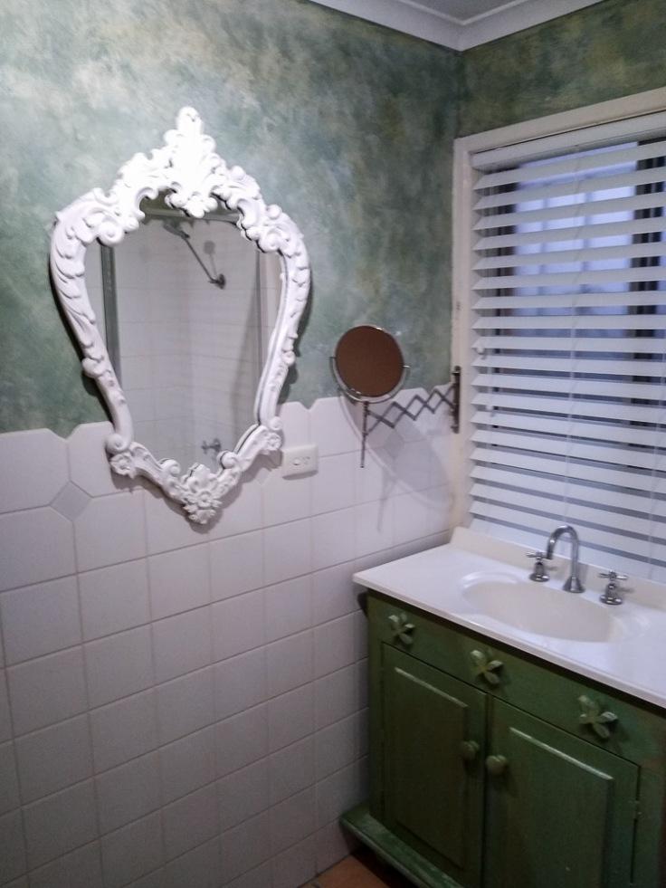 Renovating a bathroom during COVID-19, Brisbane, Queensland, Australia, Oceania
