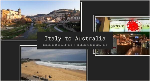 Italy to Australia, Europe, Oceania