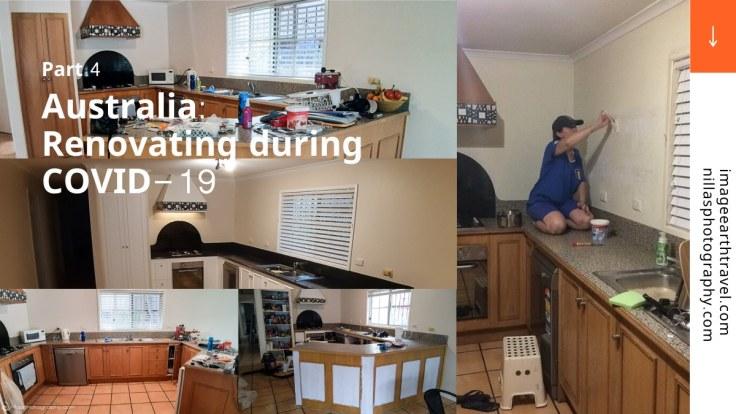 renovating a kitchen, bathroom, and en-suite, Queensland, Australia