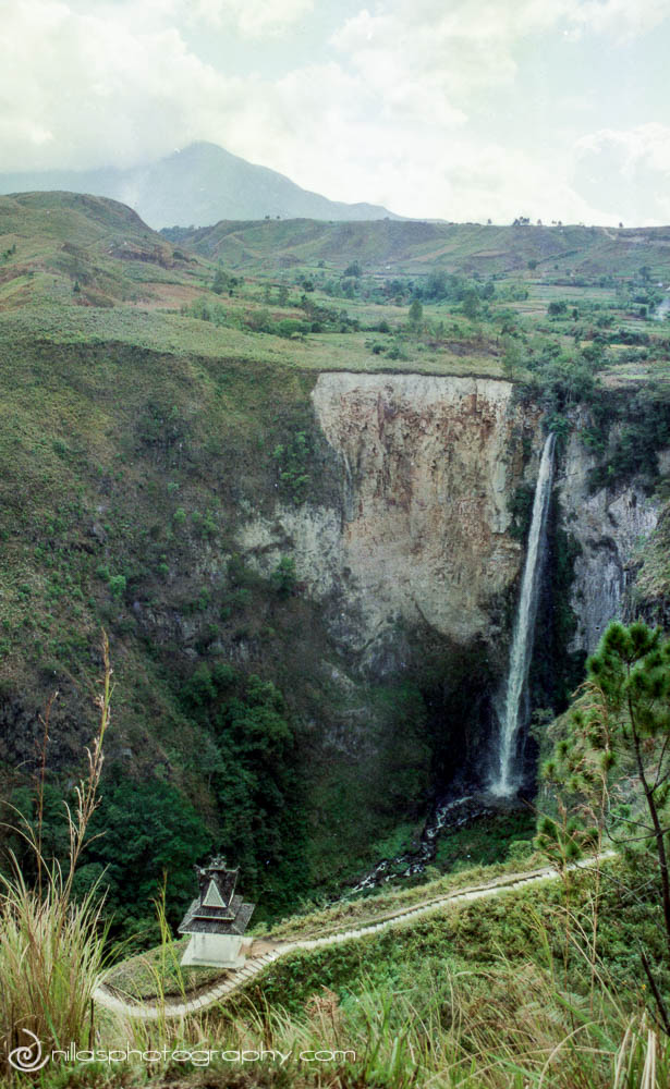 Sipisopiso Waterfall, Lake Toba, Sumatra, Indonesia, SE Asia