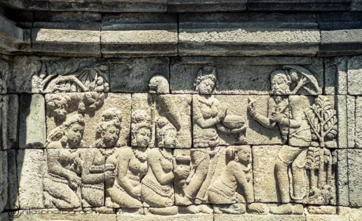 Borobudur temple, Yogyakarta, Central Java, Indonesia, SE Asia