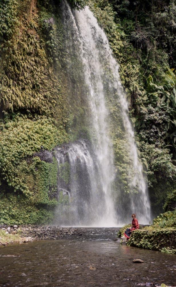 Sendang Gile Waterfall, Lombok, Indonesia, South East Asia