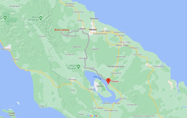 Bus from Bukit Lawang to Parapat, Sumatra, Indonesia, SE Asia