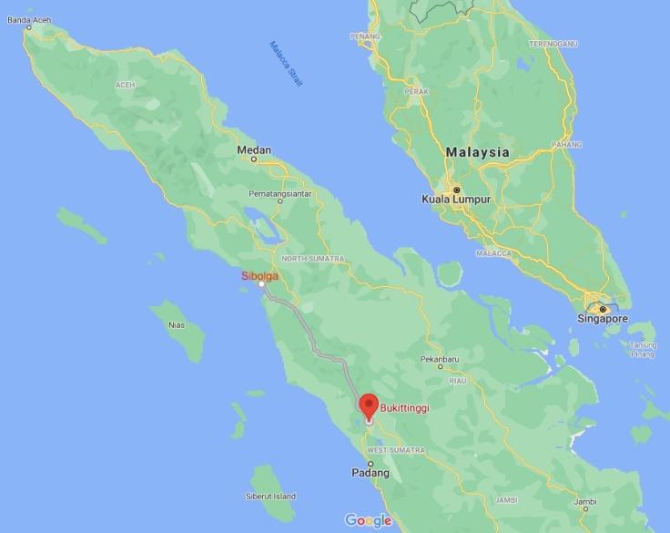 Bus from Sibolga to Bukittinggi, Sumatra, Indonesia, SE Asia