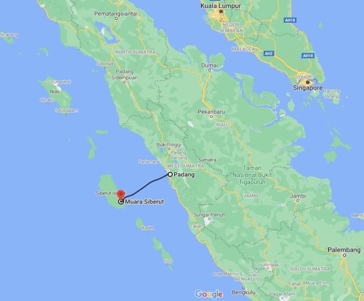 Ferry from Padang to Muara, Siberut Island, West Sumatra, Indonesia, SE Asia