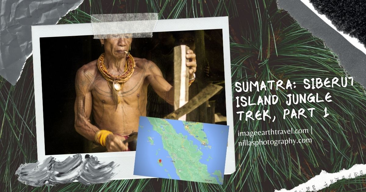 Jungle trekking in Siberut Island, Sumatra, Indonesia, SE Asia