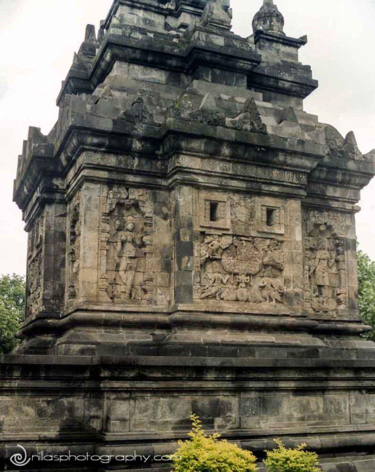 Mendut temple, Yogyakarta, Central Java, Indonesia, SE Asia