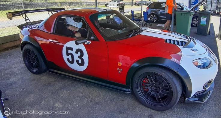 Mazda Mx5, Lakeside Park QLD Raceway, Kurwongbah, Brisbane, QLD, Australia, Oceania