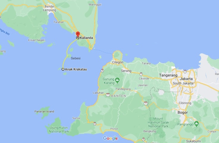 Anak Krakatau to Sebesi to Kalianda, Sumatra, Indonesia, SE Asia