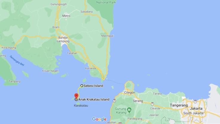 Pulau Sebesi to Anak Krakatau, Sumatra, Indonesia, SE Asia