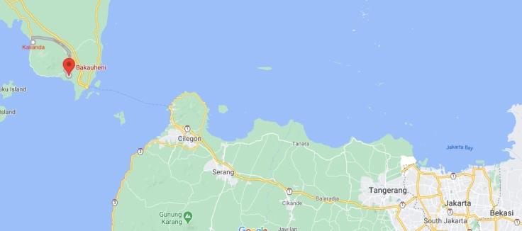 Taxi from Kalianda to Bakauheni, Sumatra, Java, Indonesia, SE Asia
