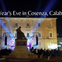 New Year's Eve in Cosenza, Calabria