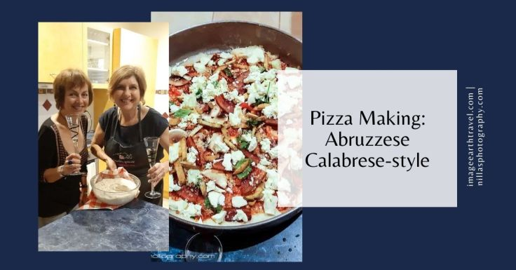 Pizza making Abruzzese Calabrese-style