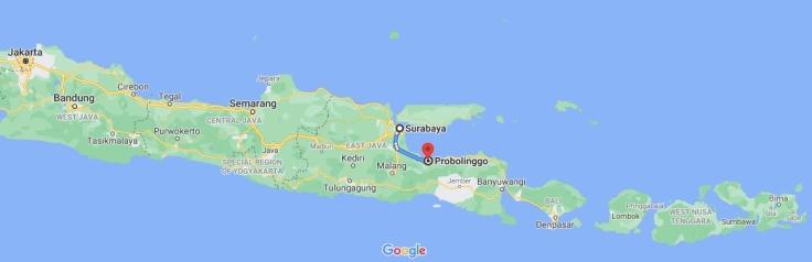 Train from Surabaya to Probolinggo, Java, Indonesia, SE Asia