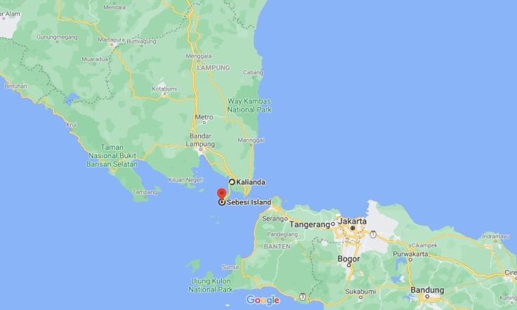 Kalianda to Pulau Sebesi, Sumatra, Indonesia, SE Asia