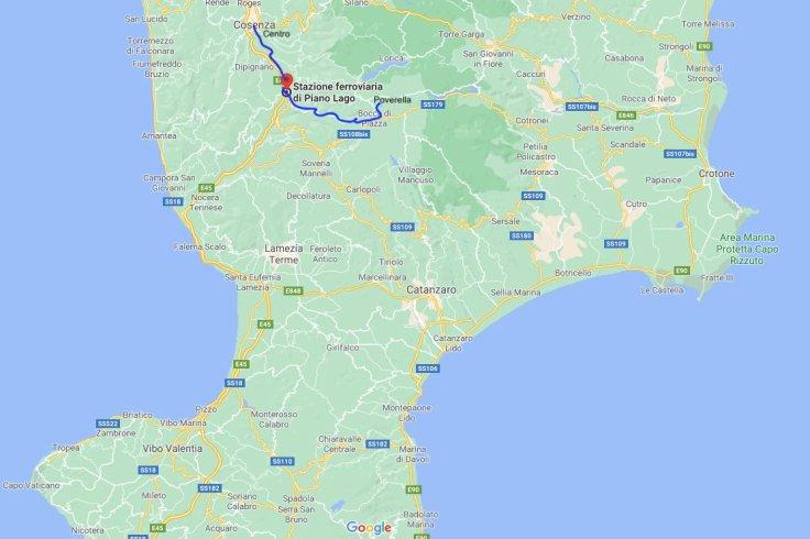 Cosenza to Piano Lago to Poverella, Calabria, Italy, Europe