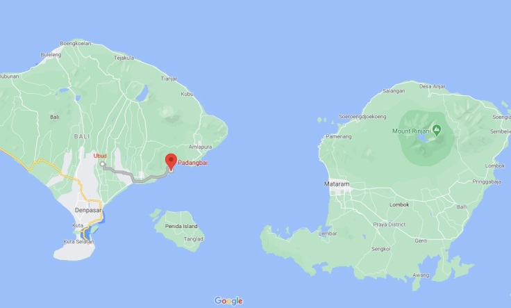 Ubud, Padangbai, Bali, Indonesia, SE Asia