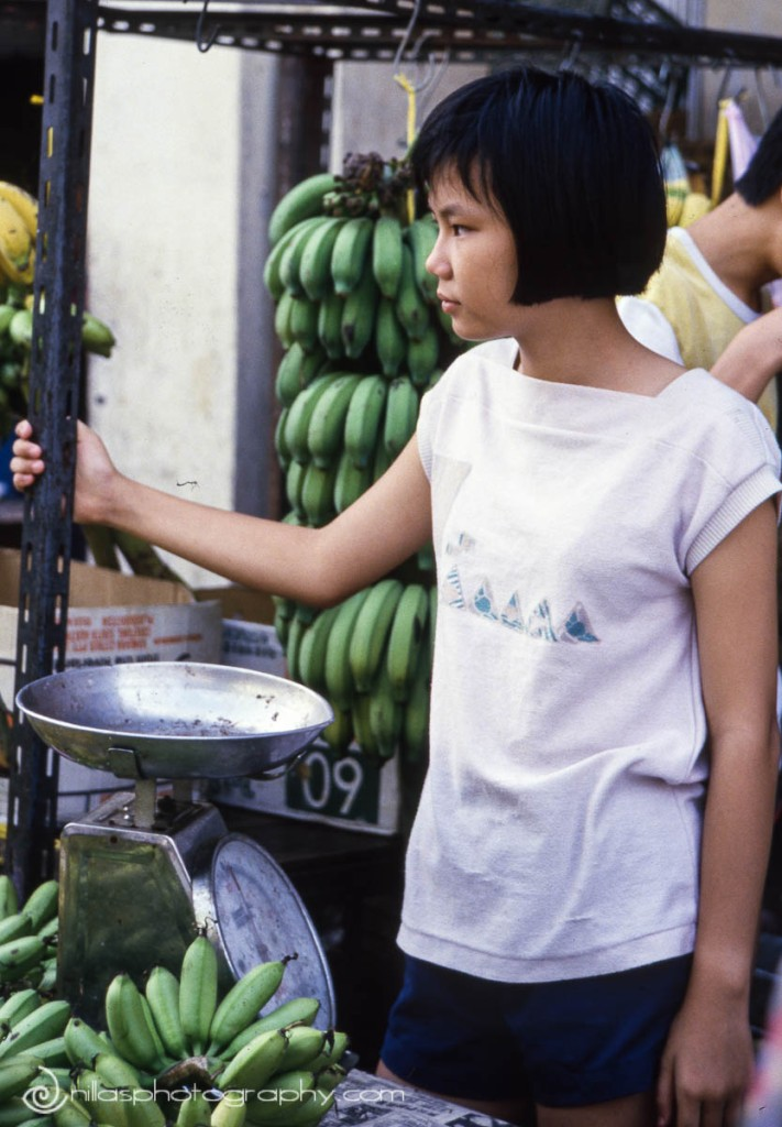 banana stall, Malaysia, SE Asia
