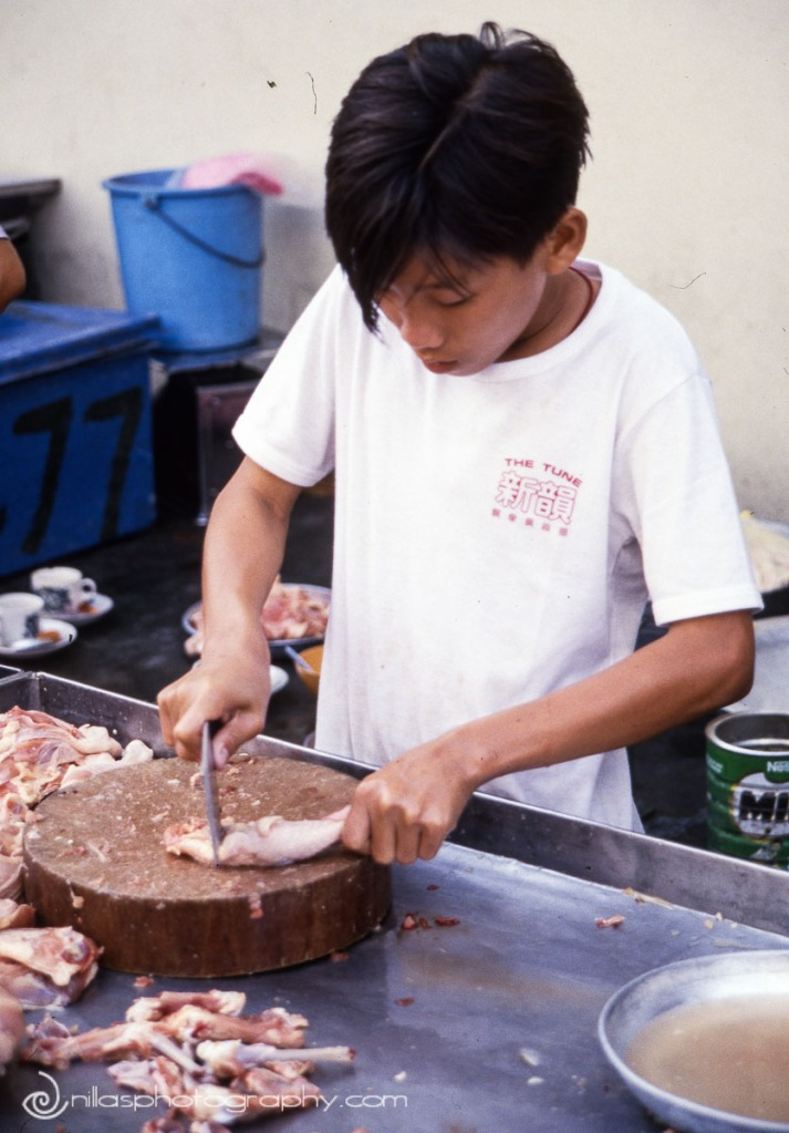 butcher, Malaysia, SE Asia
