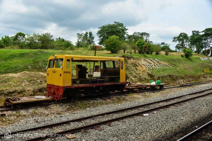 Train, Taman Negara, Jerantut, Malaysia, SE Asia