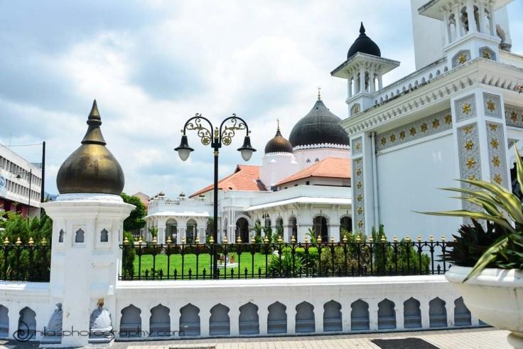 Kapitan Keling Mosque, Georgetown, Penang, Malaysia, SE Asia