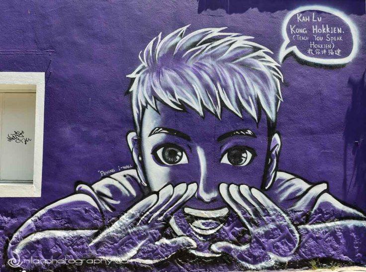 Street art, Georgetown, Penang, Malaysia, SE Asia