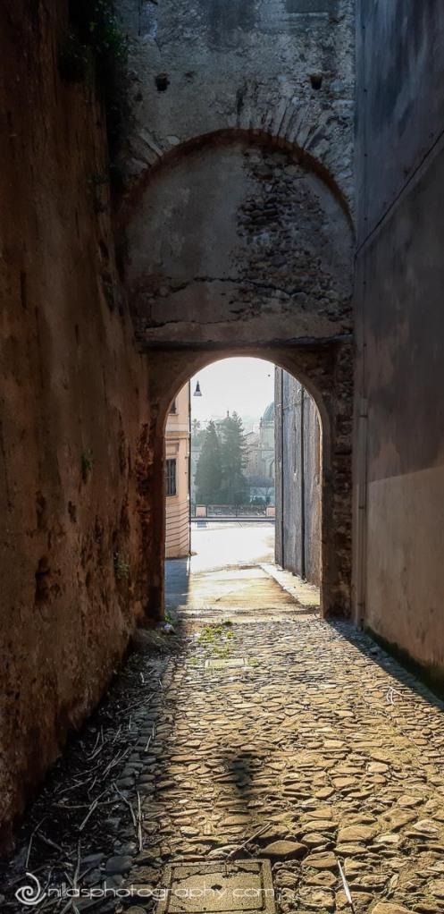 Via Gian Vincenzo Gravina, Centro Storico, Cosenza, Calabria, Italy, Europe