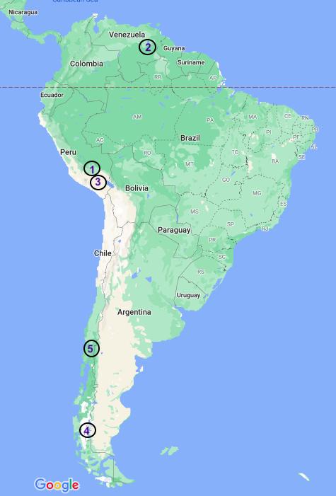 South America treks