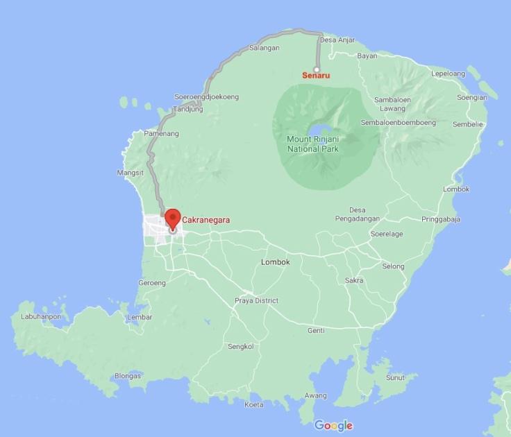 Senaru to Cakranegara, Lombok, SE Asia