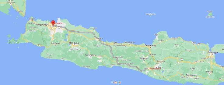 Train Yogyakarta to Jakarta, Java, Indonesia, SE Asia